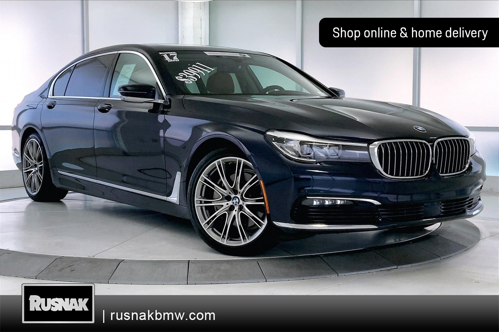 Certified Pre-Owned 2017 BMW 7 Series 740i