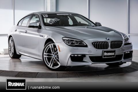 Certified Pre-Owned 2016 BMW 6 Series 640i Gran Coupe